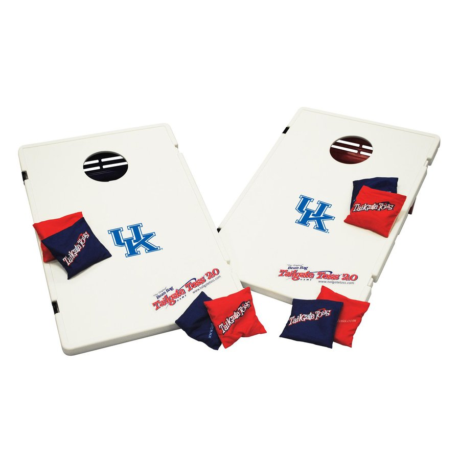 Wild Sports Kentucky Wildcats Outdoor Corn Hole Party Game with Case