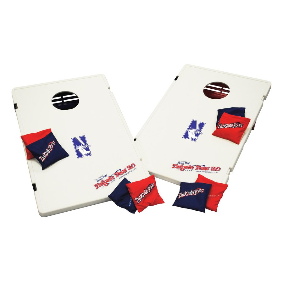 Wild Sports Northwestern Wildcats Outdoor Corn Hole Party Game with Case