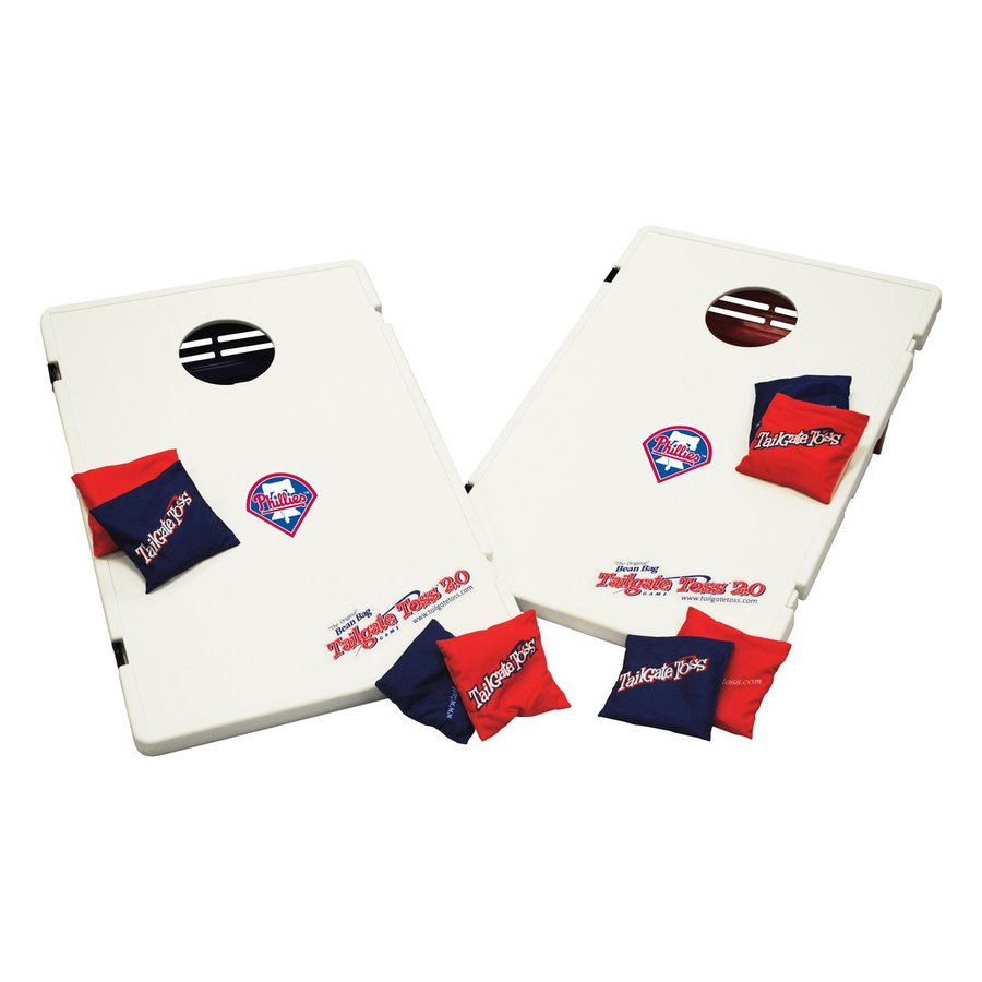 Wild Sports Philadelphia Phillies Outdoor Corn Hole Party Game with Case