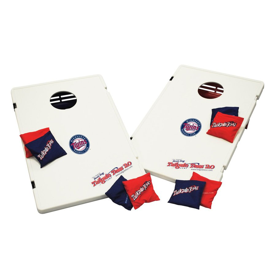 Wild Sports Minnesota Twins Outdoor Corn Hole Party Game with Case