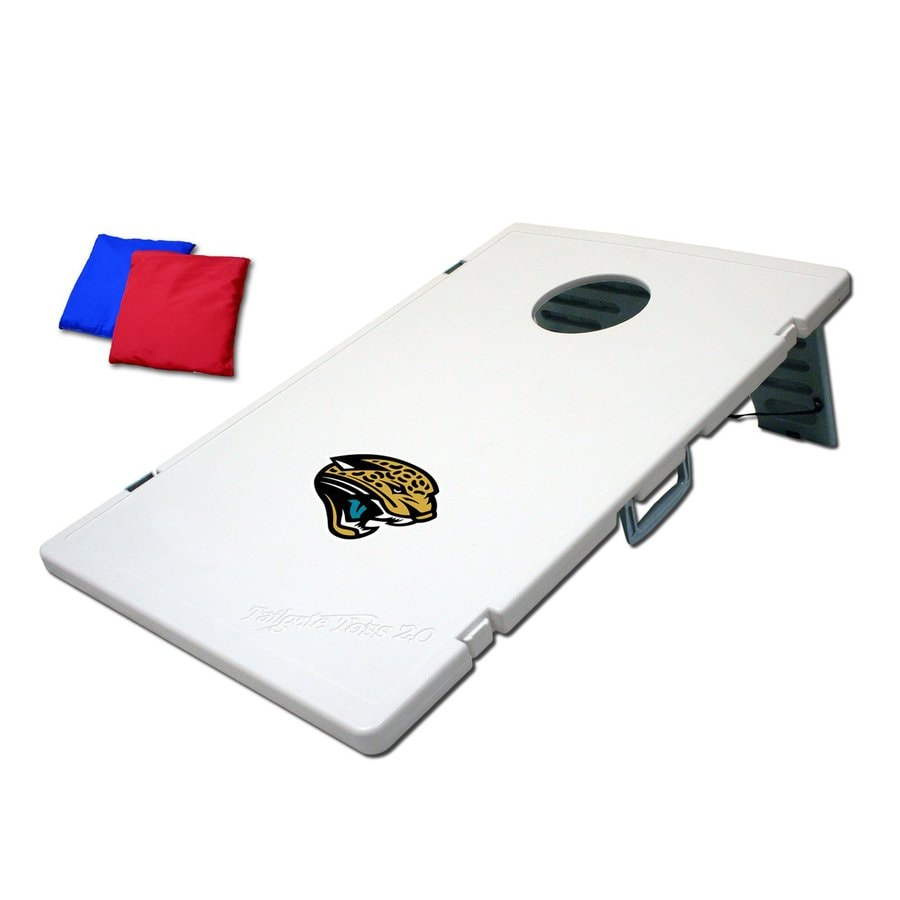 Wild Sports Jacksonville Jaguars Outdoor Corn Hole Party Game with Case