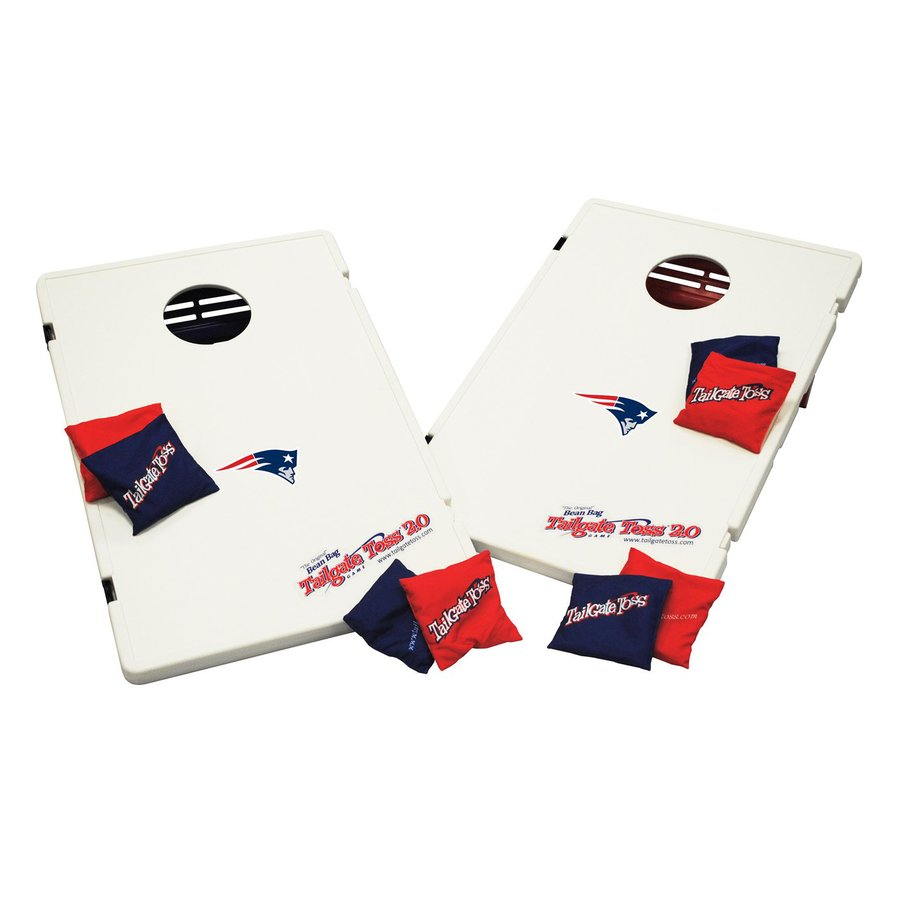 Wild Sports New England Patriots Outdoor Corn Hole Party Game with Case