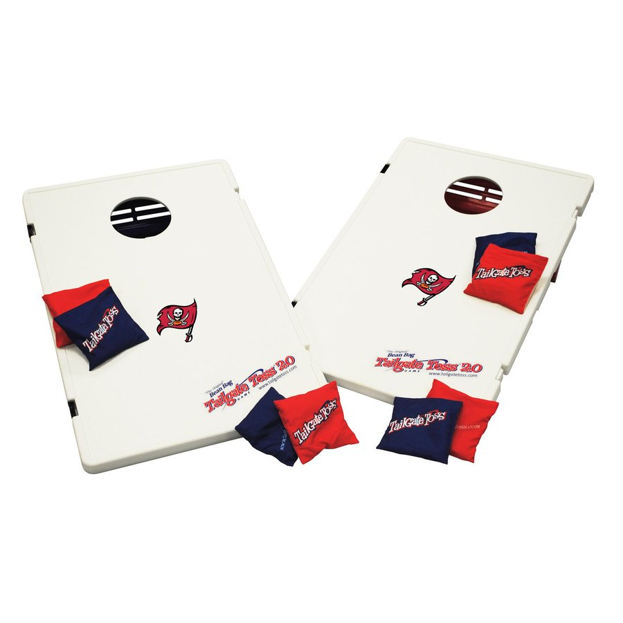 Wild Sports Tampa Bay Buccaneers Outdoor Corn Hole Party Game with Case