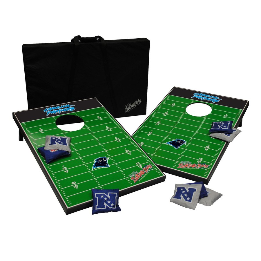 Wild Sports Carolina Panthers Outdoor Corn Hole Party Game
