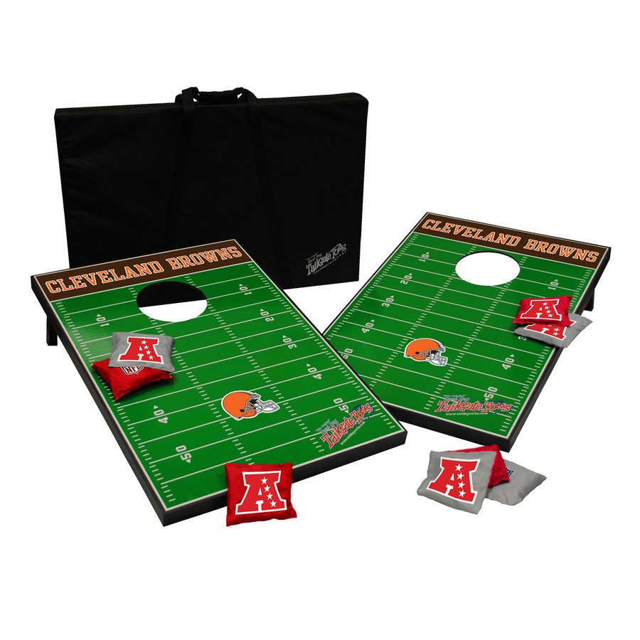 Wild Sports Cleveland Browns Outdoor Corn Hole Party Game