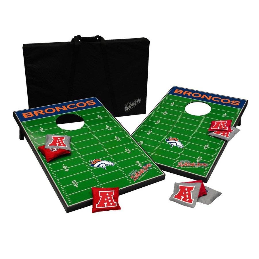 Wild Sports Denver Broncos Outdoor Corn Hole Party Game