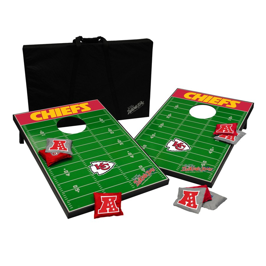 Wild Sports Kansas City Chiefs Outdoor Corn Hole Party Game