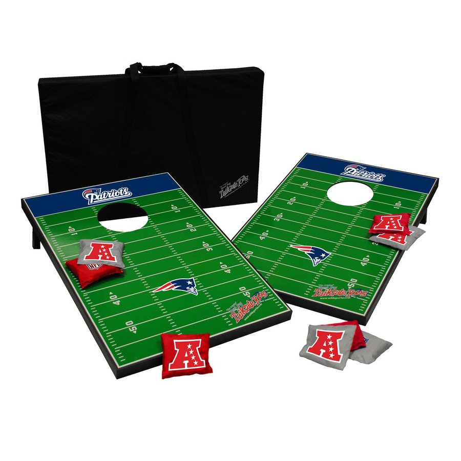 Wild Sports New England Patriots Outdoor Corn Hole Party Game