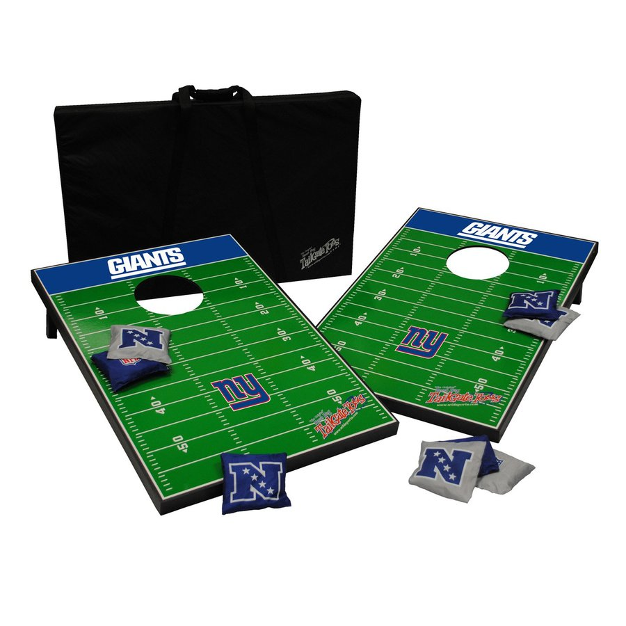 Wild Sports New York Giants Outdoor Corn Hole Party Game