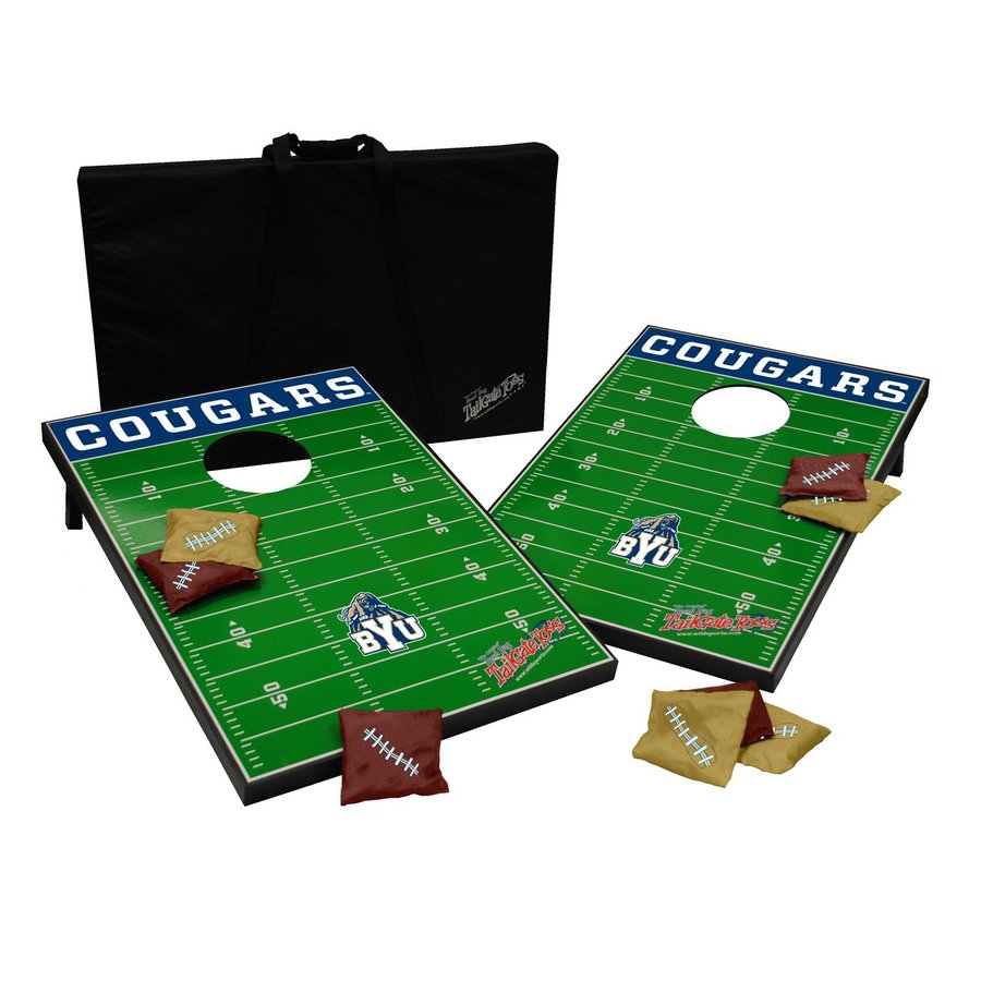 Wild Sports Brigham Young University Cougars Outdoor Corn Hole Party Game