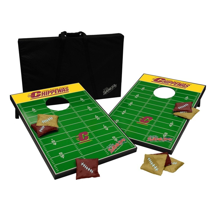 Wild Sports Central Michigan Chippewas Outdoor Corn Hole Party Game
