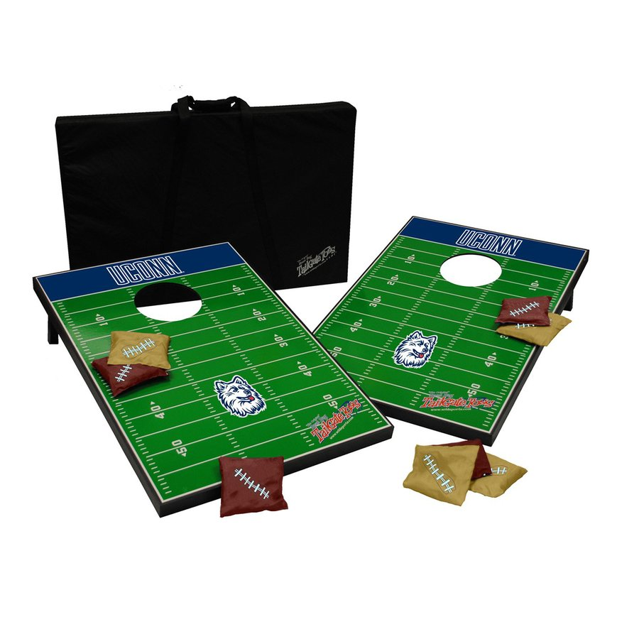 Wild Sports University of Connecticut Huskies Outdoor Corn Hole Party Game