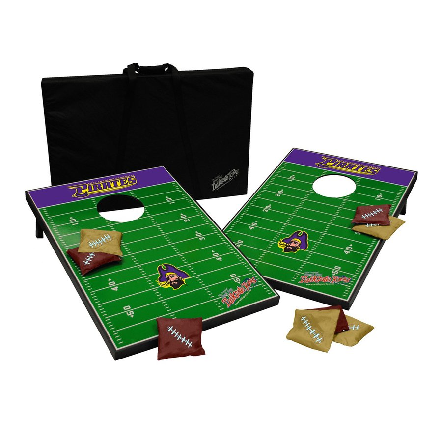 Wild Sports East Carolina Pirates Outdoor Corn Hole Party Game