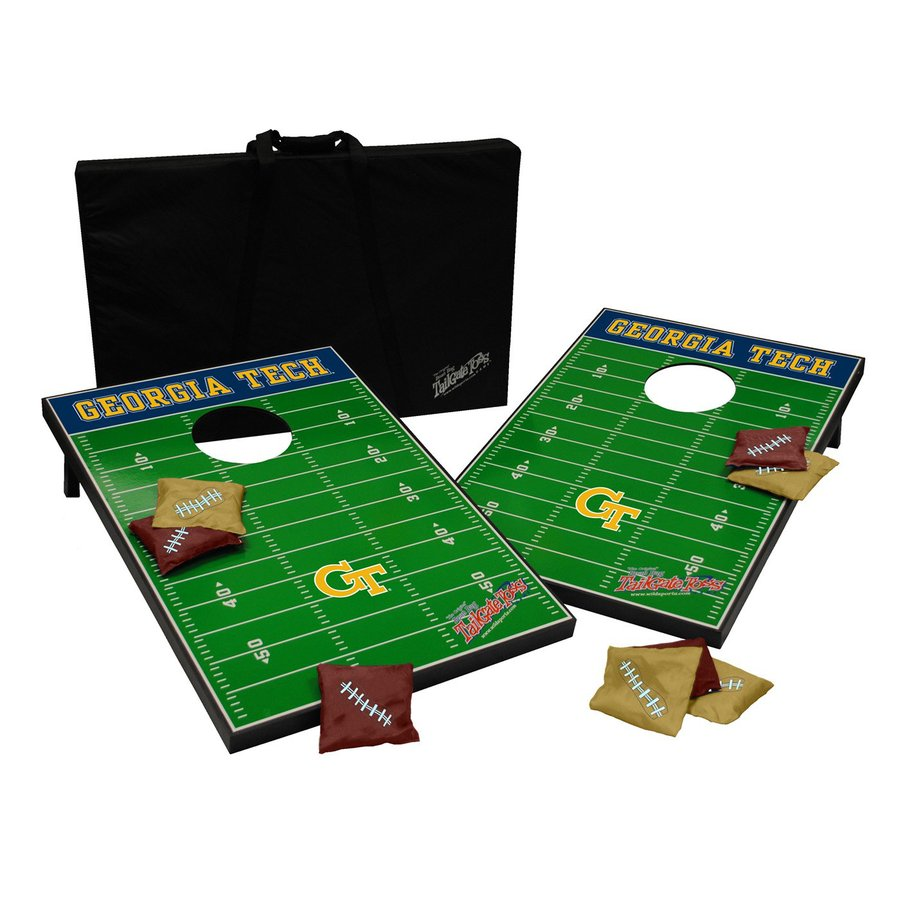 Wild Sports Georgia Tech Yellow Jackets Outdoor Corn Hole Party Game