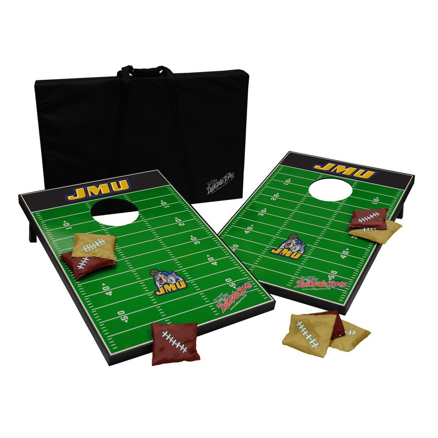 Wild Sports James Madison Dukes Outdoor Corn Hole Party Game