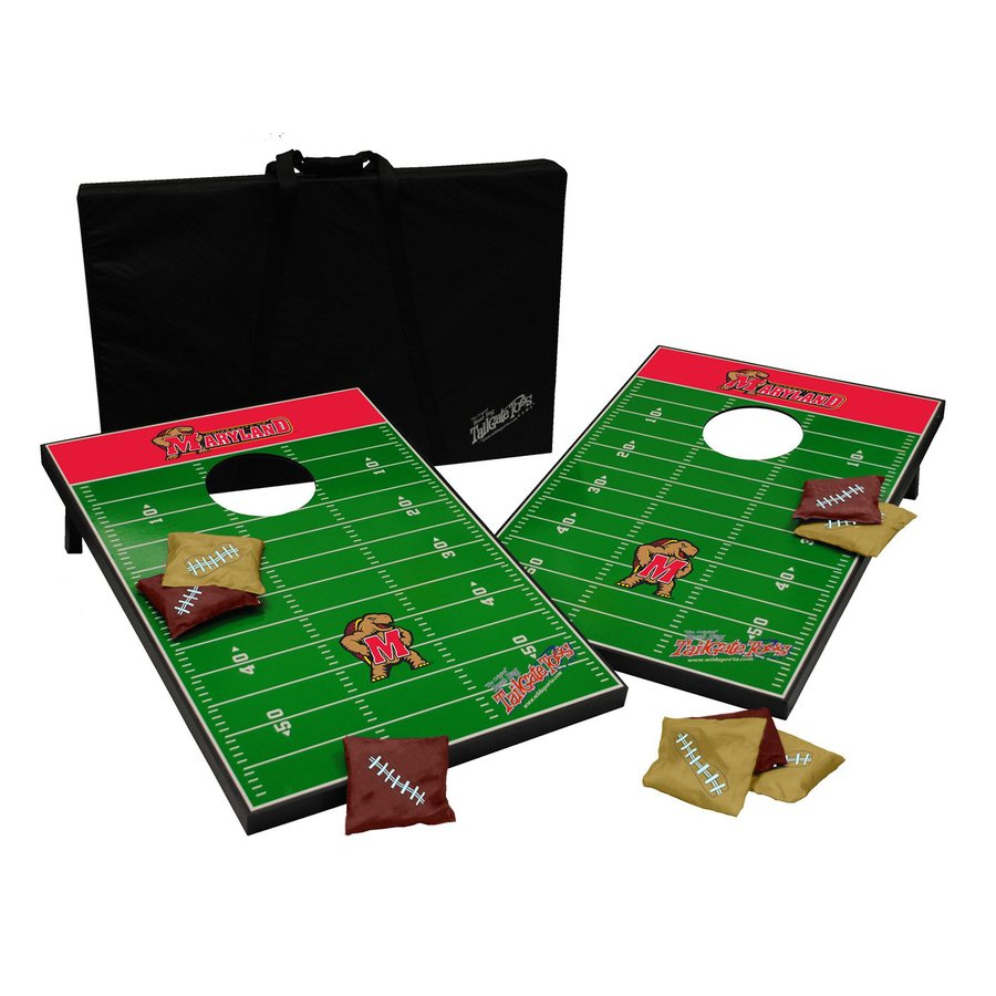 Wild Sports Maryland Terrapins Outdoor Corn Hole Party Game