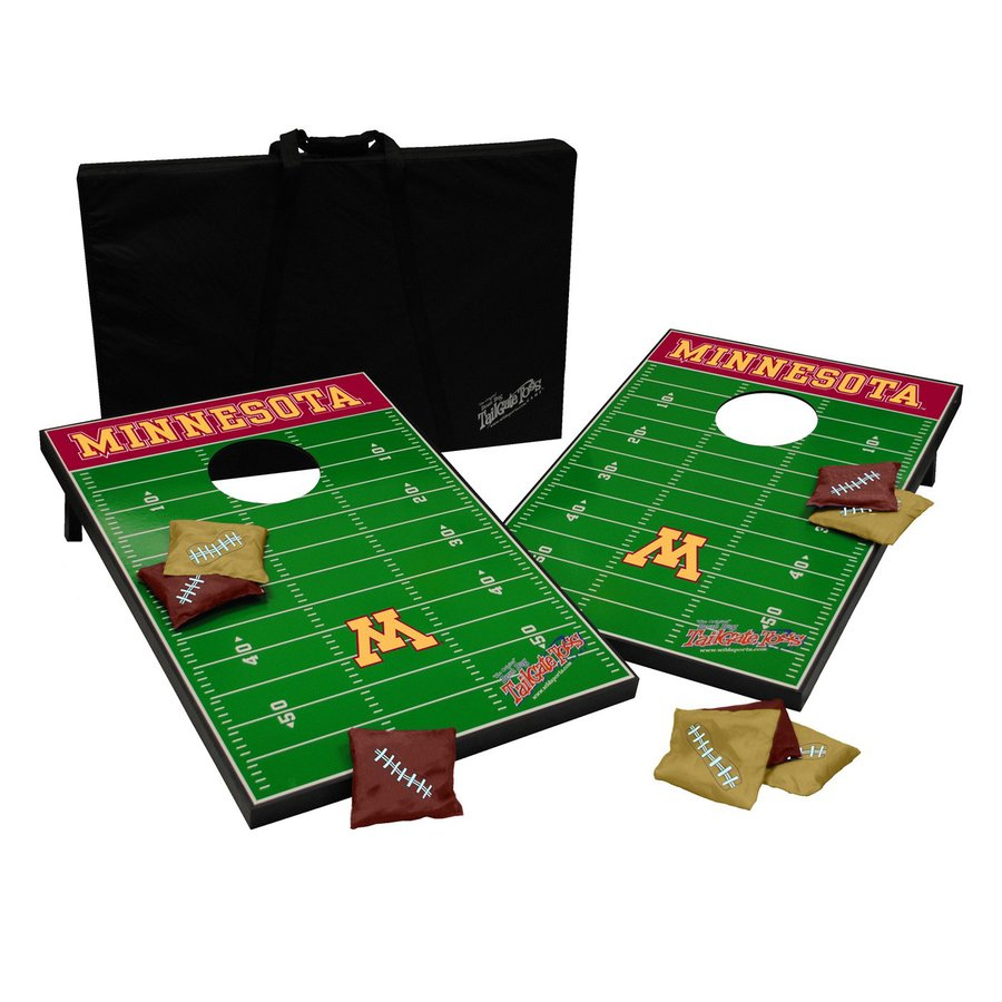 Wild Sports Minnesota Golden Gophers Outdoor Corn Hole Party Game