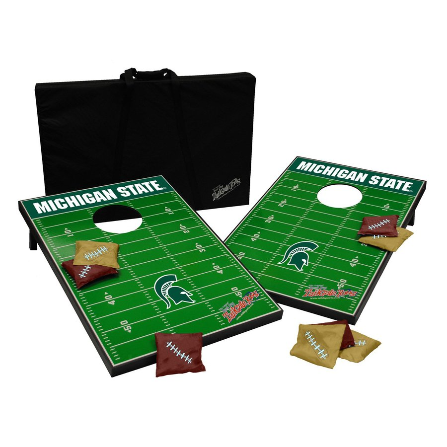Wild Sports Michigan State Spartans Outdoor Corn Hole Party Game