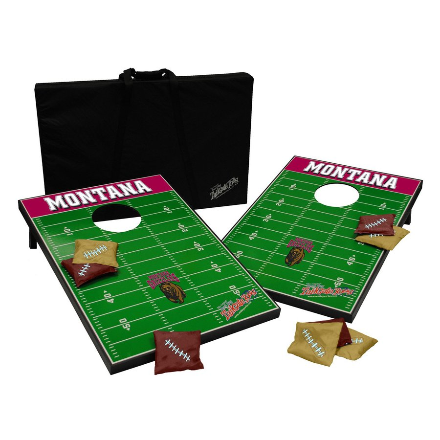 Wild Sports Montana Grizzlies Outdoor Corn Hole Party Game