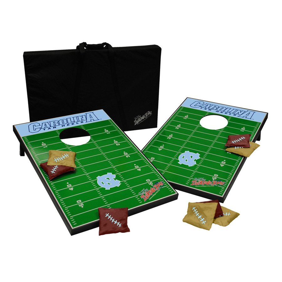 Wild Sports North Carolina Tar Heels Outdoor Corn Hole Party Game