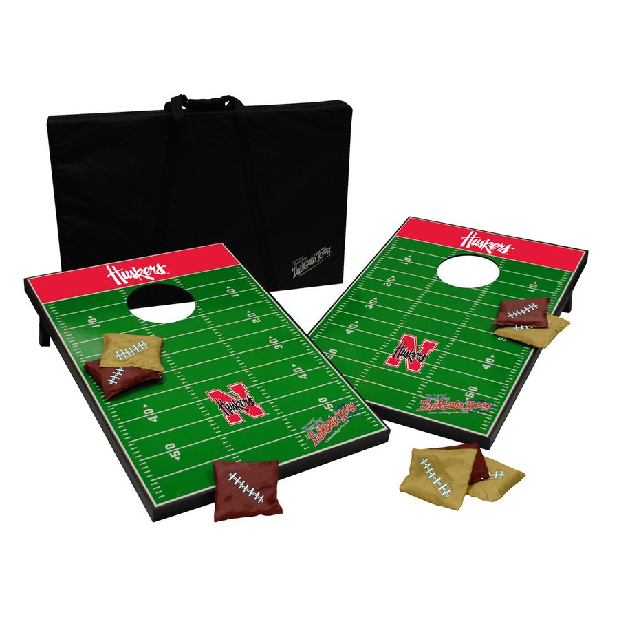 Wild Sports Nebraska Cornhuskers Outdoor Corn Hole Party Game