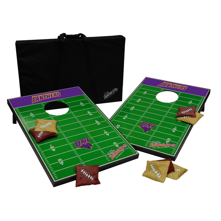 Wild Sports Northern Iowa Panthers Outdoor Corn Hole Party Game