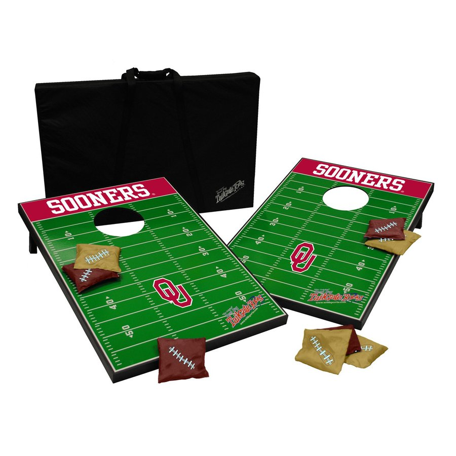 Wild Sports Oklahoma Sooners Outdoor Corn Hole Party Game