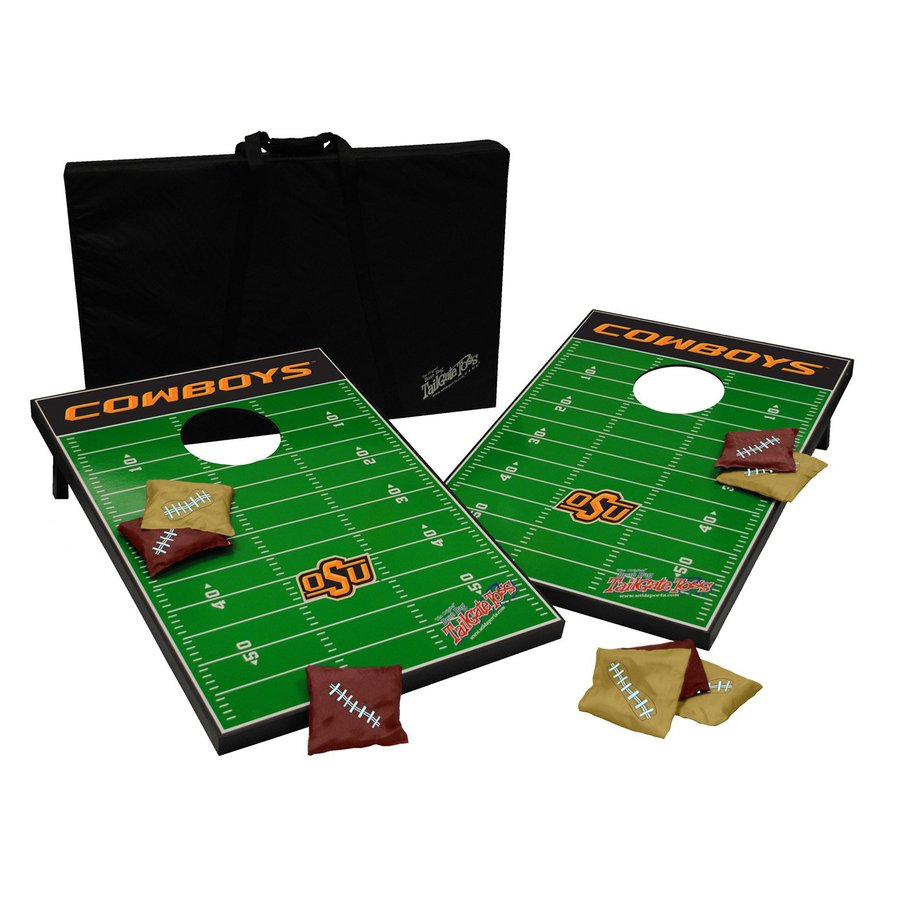 Wild Sports Oklahoma State Cowboys Outdoor Corn Hole Party Game
