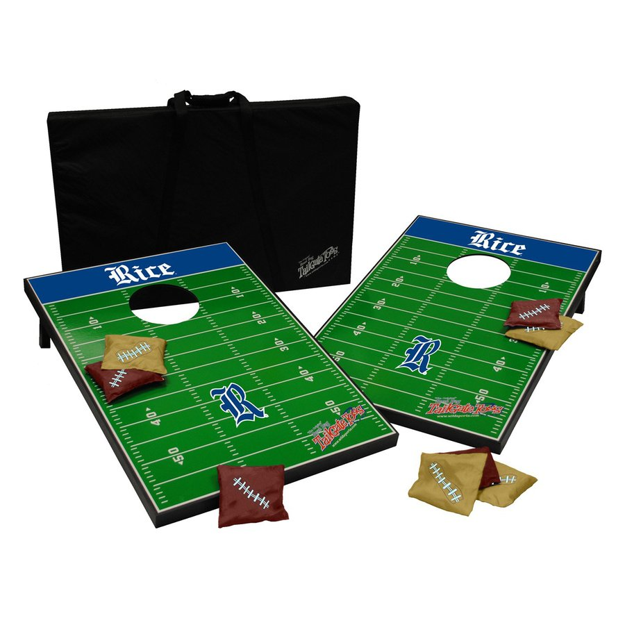 Wild Sports Rice Owls Outdoor Corn Hole Party Game