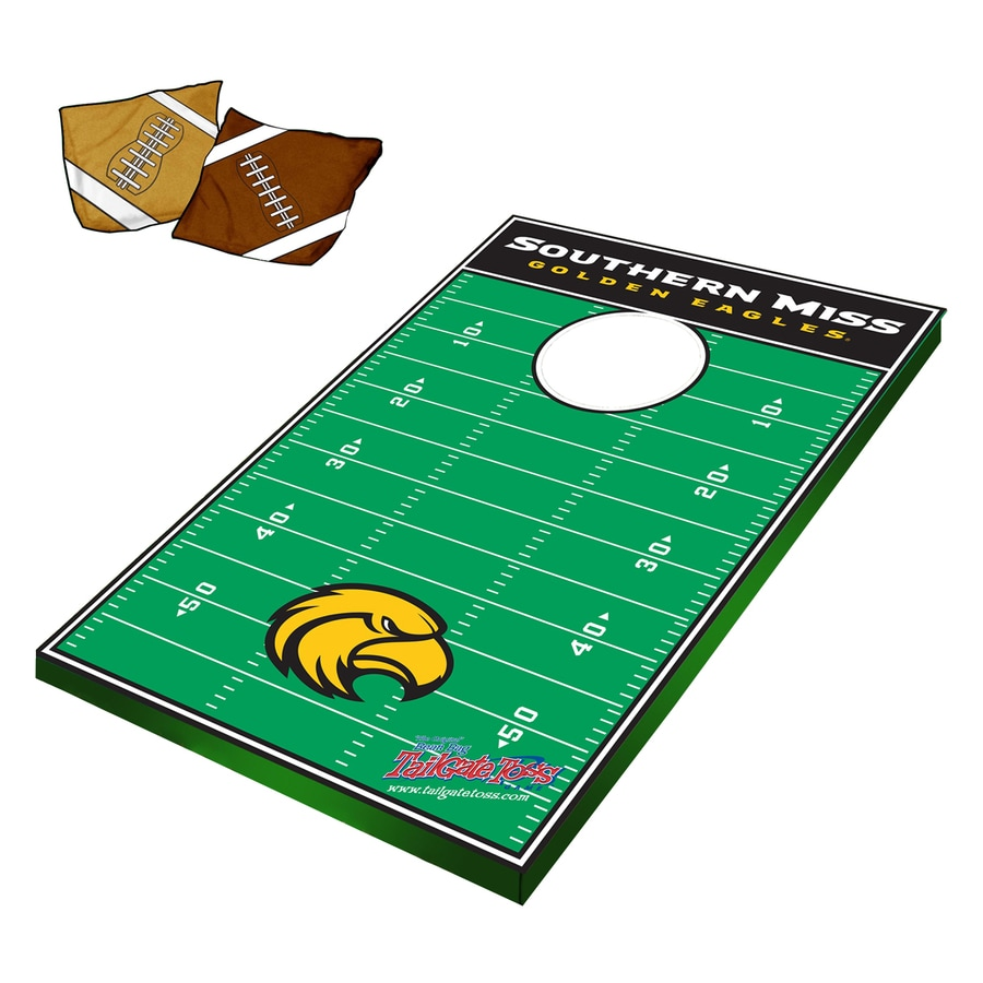 Wild Sports Southern Mississippi Golden Eagles Outdoor Corn Hole Party Game