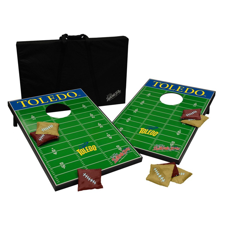 Wild Sports Toledo Rockets Outdoor Corn Hole Party Game