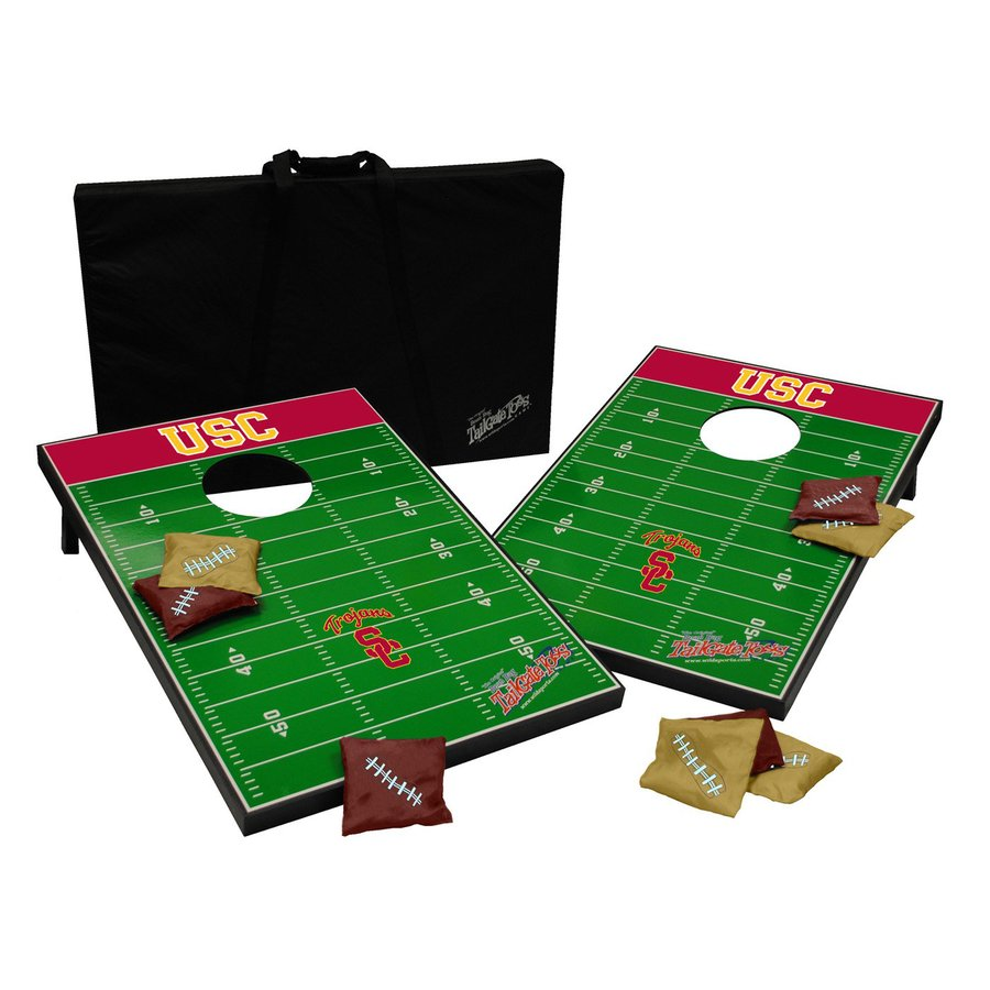 Wild Sports University of Southern California Trojans Outdoor Corn Hole Party Game