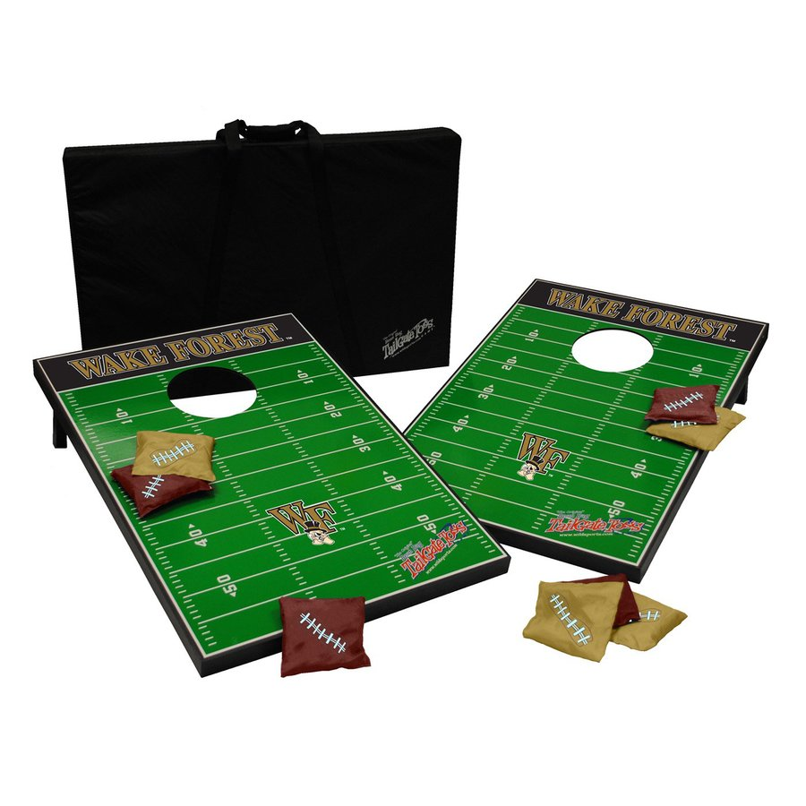 Wild Sports Wake Forest Demon Deacons Outdoor Corn Hole Party Game