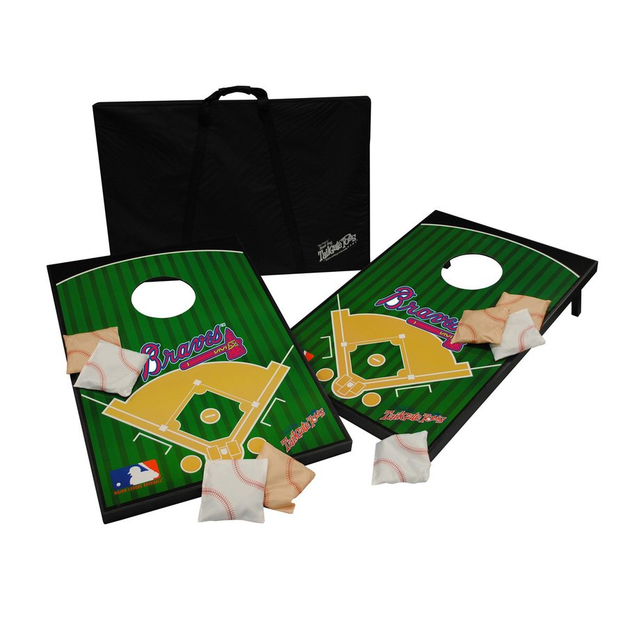 Wild Sports Atlanta Braves Outdoor Corn Hole Party Game