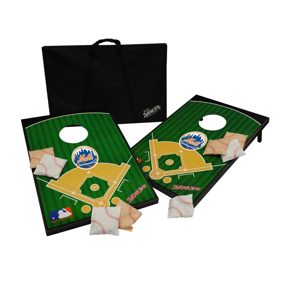 Wild Sports New York Mets Outdoor Corn Hole Party Game