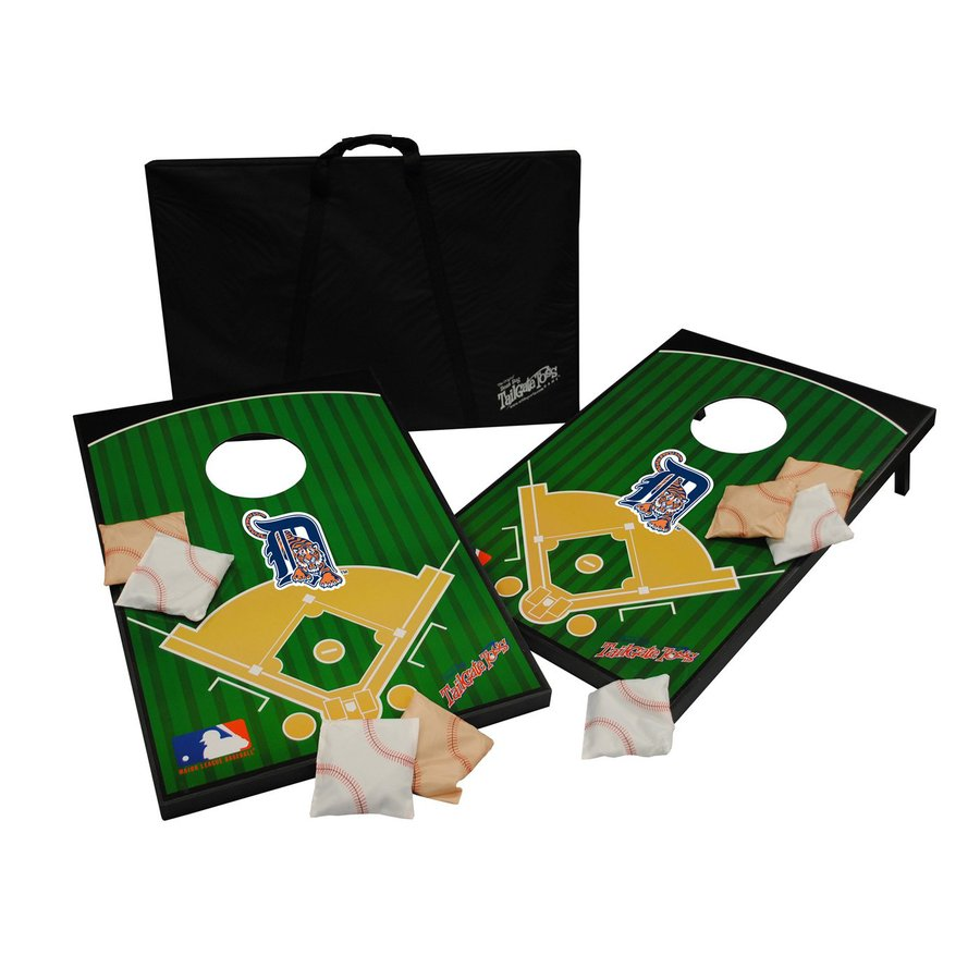 Wild Sports Detroit Tigers Outdoor Corn Hole Party Game