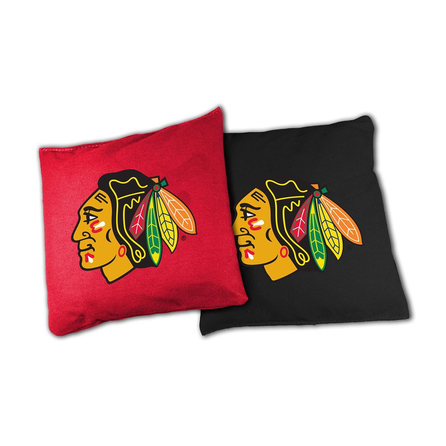 Wild Sports Chicago Blackhawks Outdoor Corn Hole Party Game