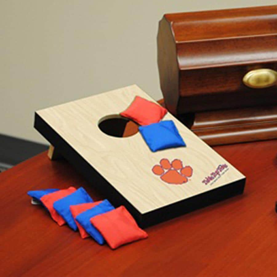 Wild Sports Clemson Tigers Outdoor Corn Hole Party Game