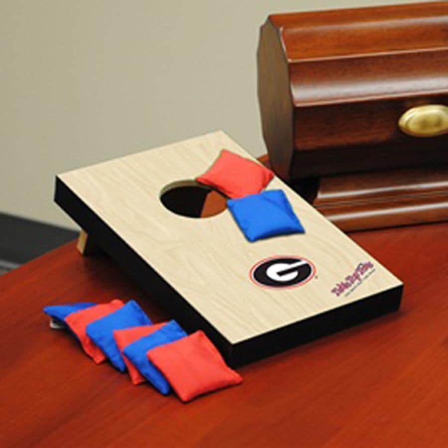 Wild Sports Georgia Bulldogs Outdoor Corn Hole Party Game