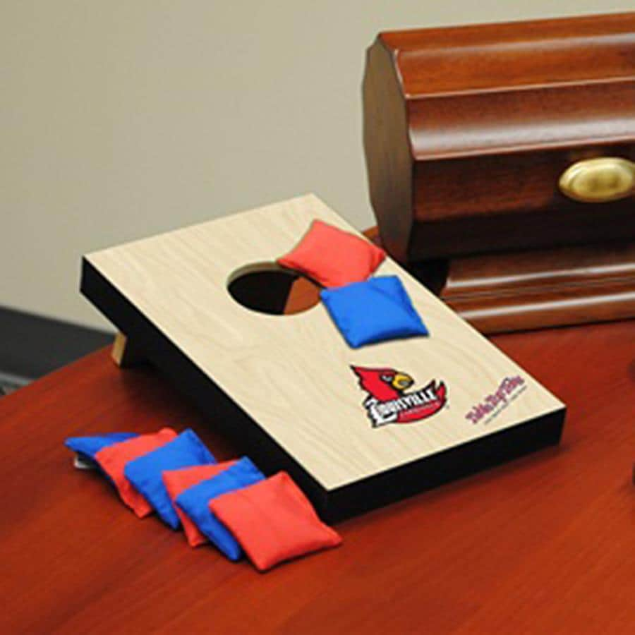 Wild Sports Louisville Cardinals Outdoor Corn Hole Party Game