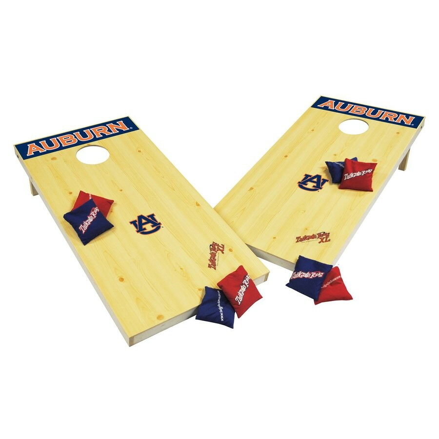 Wild Sports Auburn University Tigers Outdoor Corn Hole Party Game