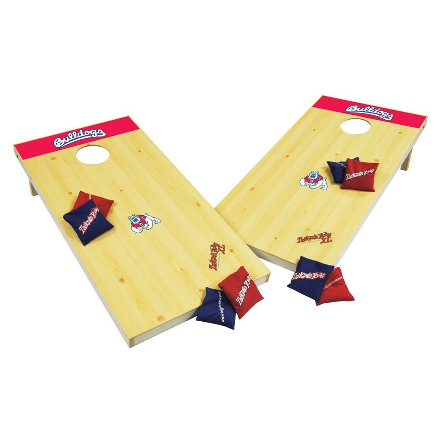 Wild Sports Fresno State Bulldogs Outdoor Corn Hole Party Game
