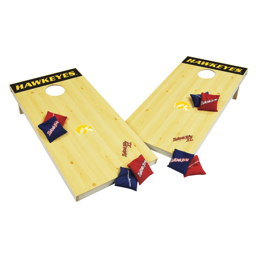 Wild Sports Iowa Hawkeyes Outdoor Corn Hole Party Game