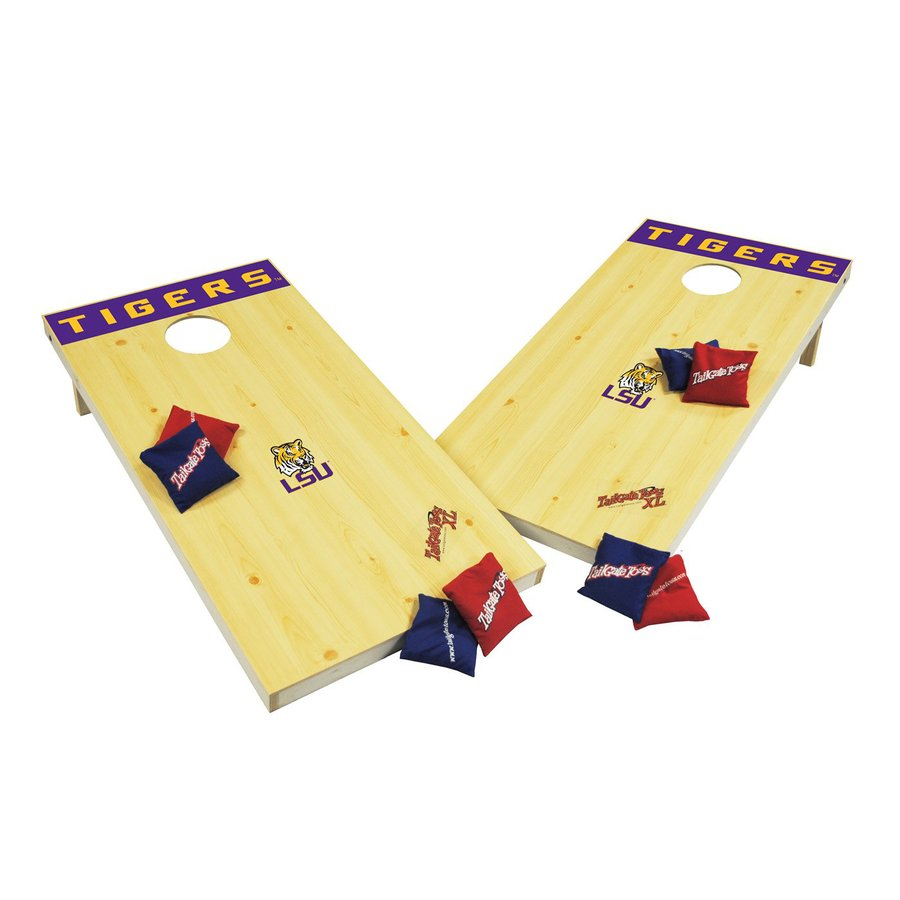 Wild Sports Louisiana State University Tigers Outdoor Corn Hole Party Game