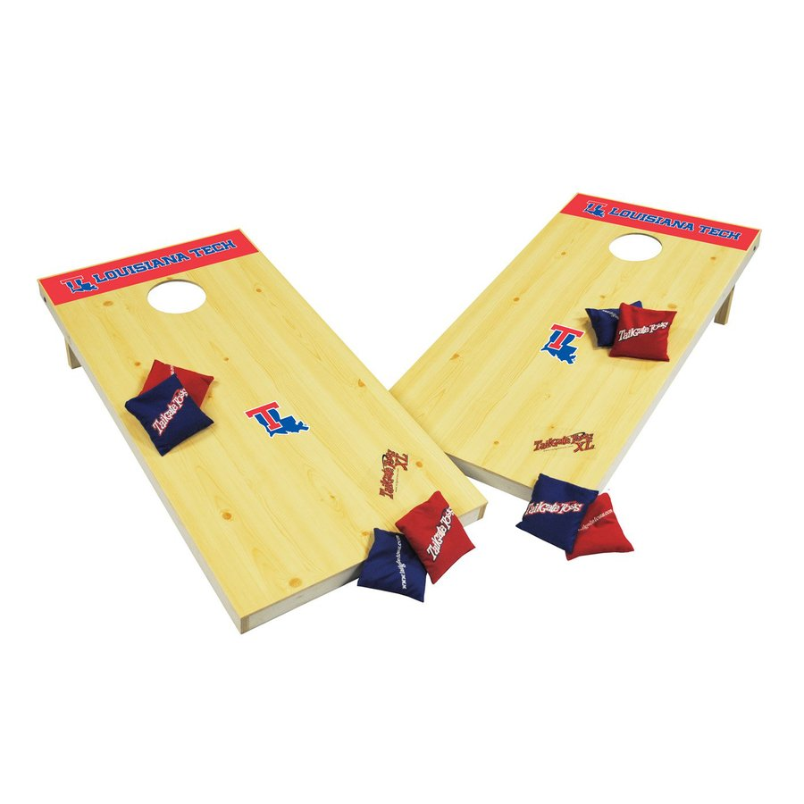 Wild Sports Louisiana Tech Bulldogs Outdoor Corn Hole Party Game