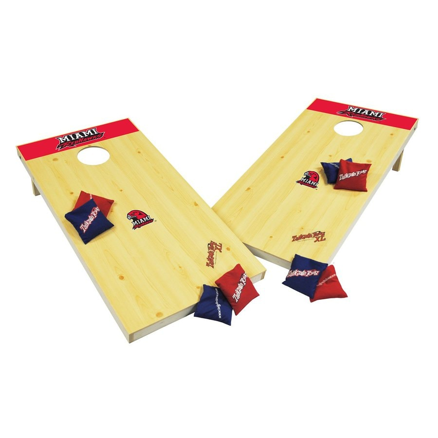 Wild Sports Miami Redhawks Outdoor Corn Hole Party Game