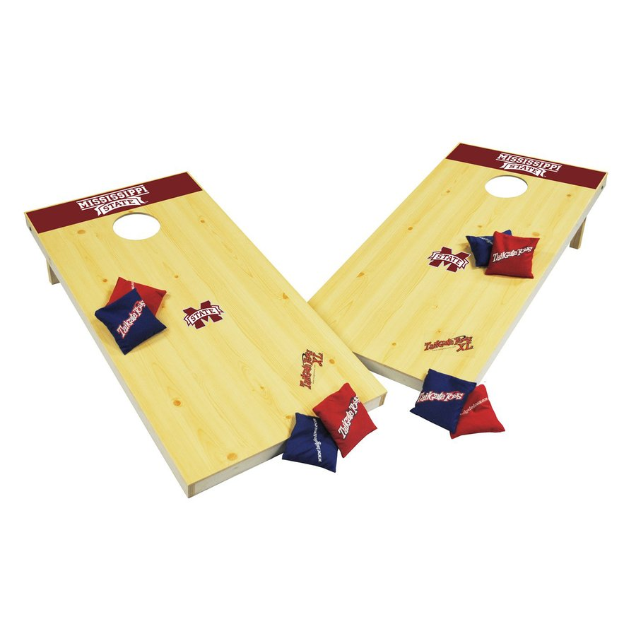 Wild Sports Mississippi State Bulldogs Outdoor Corn Hole Party Game