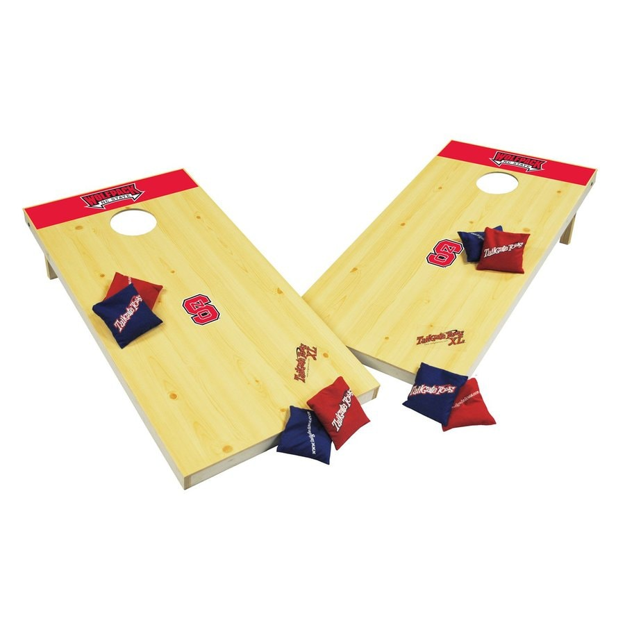 Wild Sports North Carolina State University Wolfpack Outdoor Corn Hole Party Game
