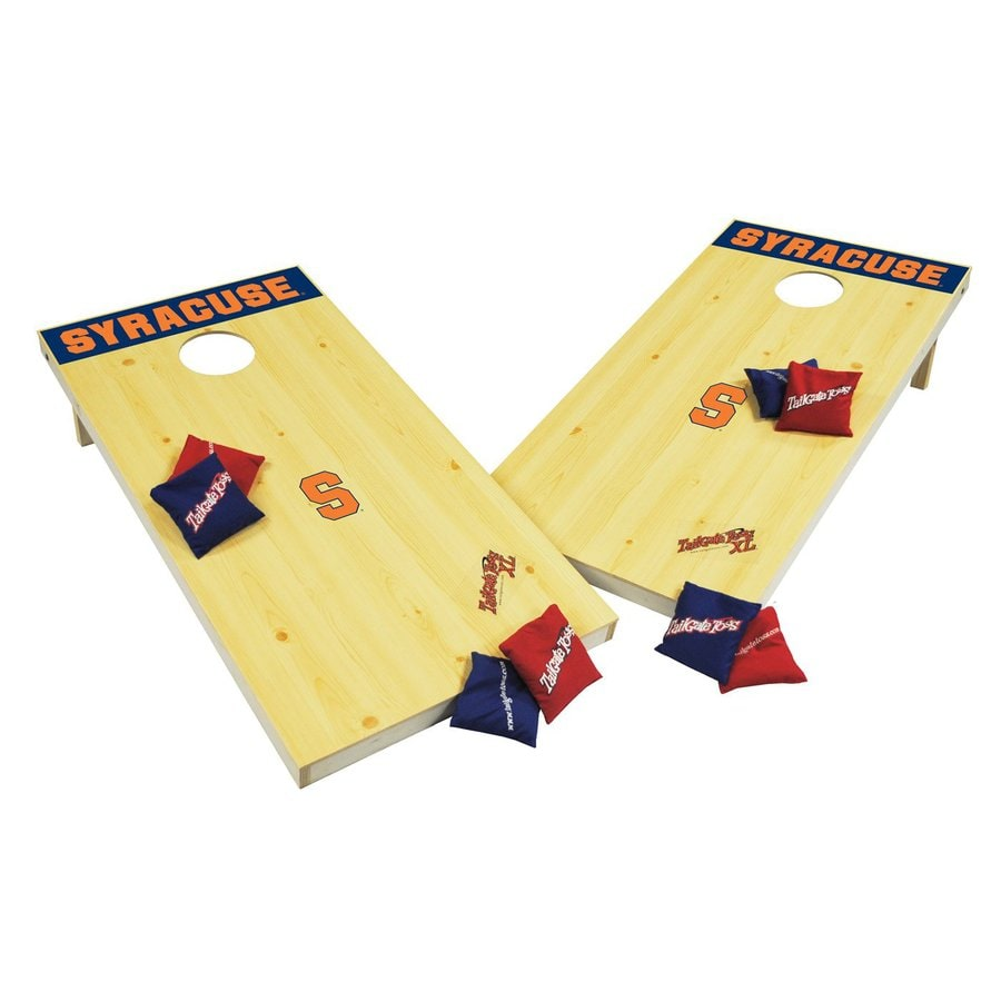 Wild Sports Syracuse Orange Outdoor Corn Hole Party Game