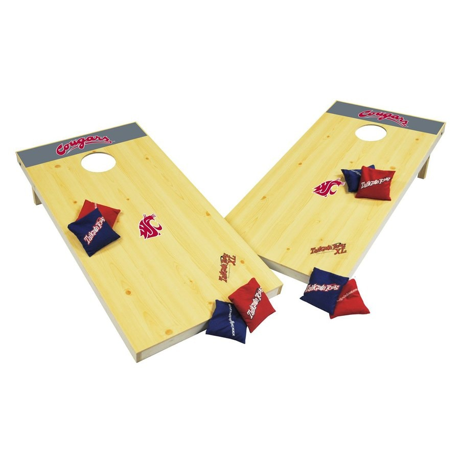 Wild Sports Washington State Cougars Outdoor Corn Hole Party Game